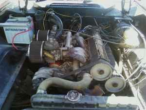 1974 Jensen Healey engine