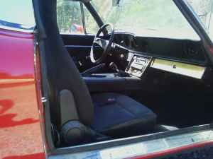 1974 Jensen Healey interior