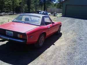 1974 Jensen Healey rear