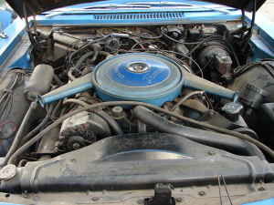 1967 Olds Toronado engine