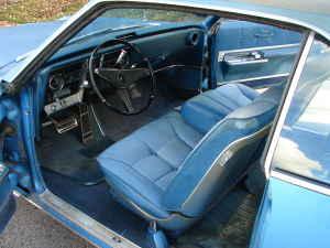 1967 Olds Toronado interior