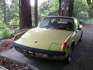 1971 Porsche 914 front