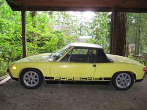 1971 Porsche 914 side