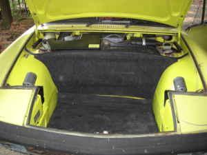 1971 Porsche 914 trunk