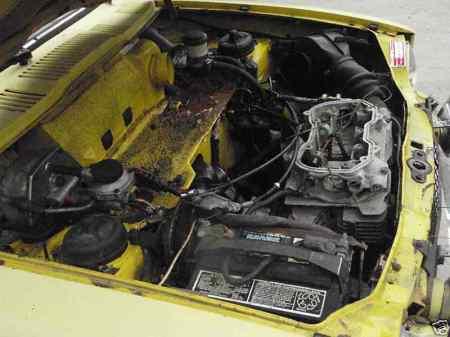 1972 Honda AZ 600 engine
