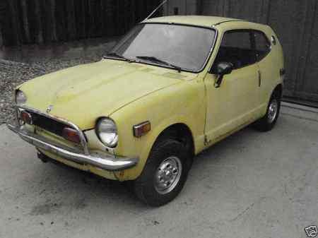 1972 Honda AZ 600 front