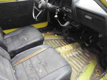 1972 Honda AZ 600 interior