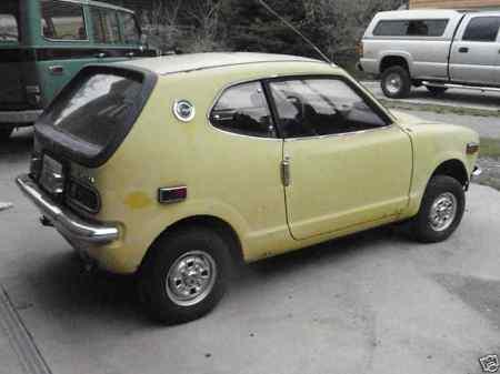 1972 Honda AZ 600 rear