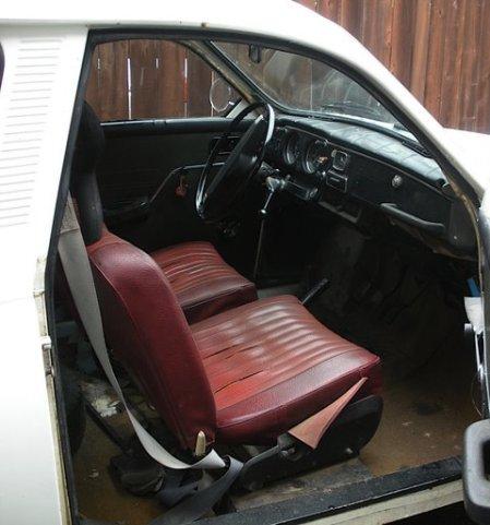 1972 Saab 95 interior