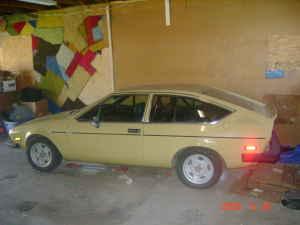 1976 Alfa Romeo Alfetta GT side
