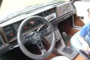 1980 Fiat X1/9 interior