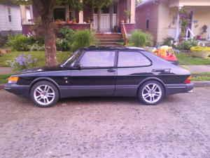 1989 Saab 900 SPG side