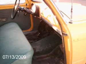 1961 Fiat 1100 interior