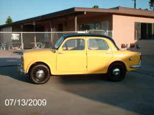 1961 Fiat 1100 side