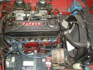 1966 Datsun Roadster engine
