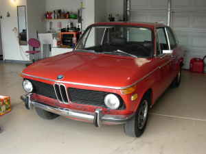1970 BMW 2002 front