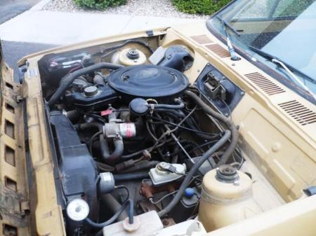 1978 Ford Fiesta engine