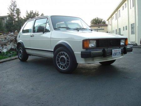 1984 VW GTI front