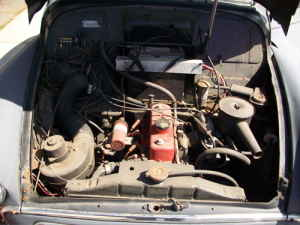 1967 Morris Minor engine