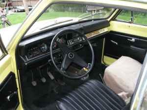1970 Opel Kadett interior