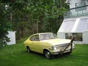 1970 Opel Kadett front