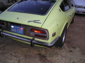 1972 Datsun 240Z rear