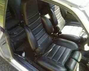 1978 Renault 17 Gordini interior