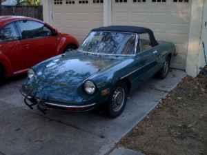 1971 Alfa Romeo Spider front