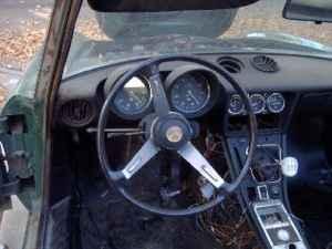 1971 Alfa Romeo Spider interior