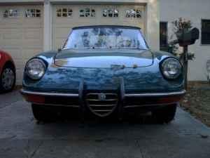 1971 Alfa Romeo Spider nose