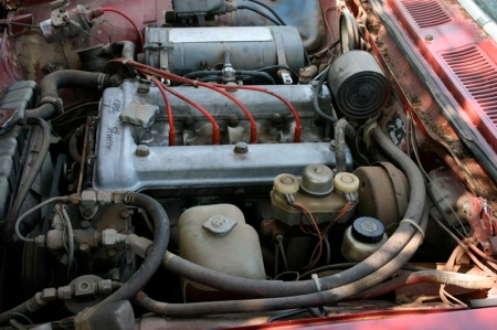 1974 Alfa Berlina engine