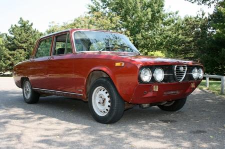 1974 Alfa Berlina front