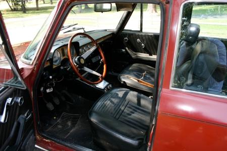 1974 Alfa Berlina interior