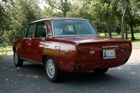 1974 Alfa Berlina rear