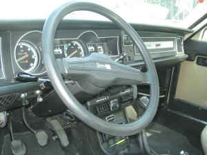 1979 Lancia Beta berlina interior