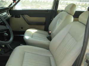 1979 Lancia Beta berlina seats