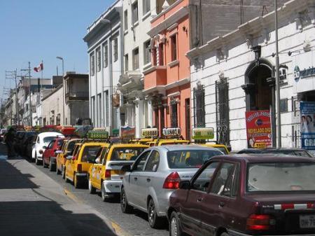 Peru taxis