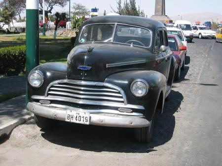 1940s Chevrolet sedan