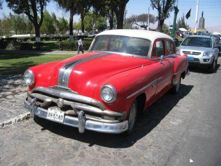 1950s Pontiac sedan