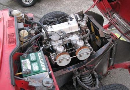 1968 Triumph Spitfire engine