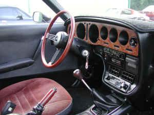 1976 Mazda Cosmo interior