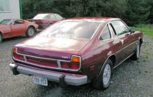 1976 Mazda Cosmo rear