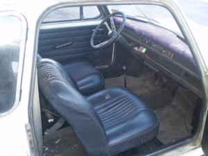 1969 Austin America interior