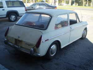 1969 Austin America rear