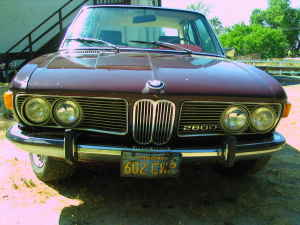 1970 BMW 2800 front
