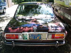 1970 BMW 2800 rear