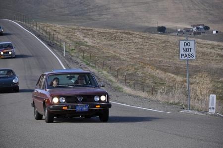 1978 Lancia Beta Berlina at Altamont Pass