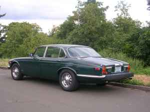 1978 Jaguar XJ6L rear