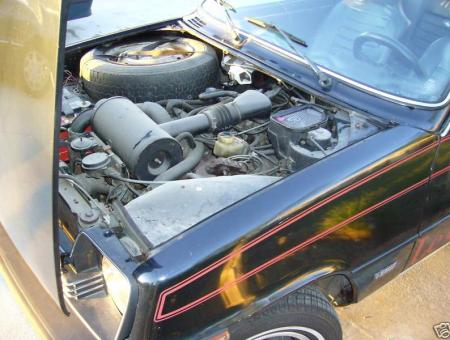 1978 Renault LeCar engine