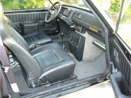 1978 Renault LeCar interior